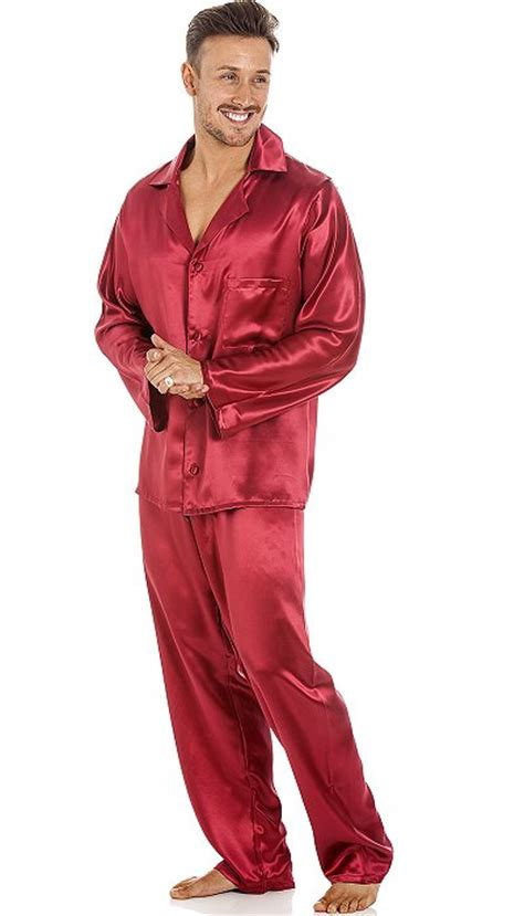 mens silk pyjamas   britain