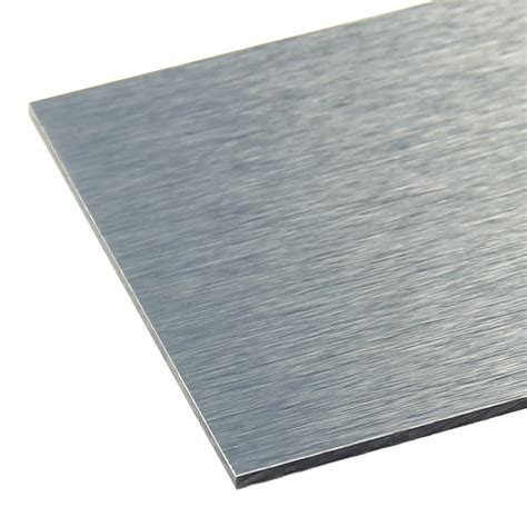 alupanel brushed aluminium sheet