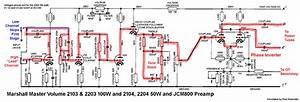 Marshall Jcm800 Preamp Signal Path By Robrobinette Com
