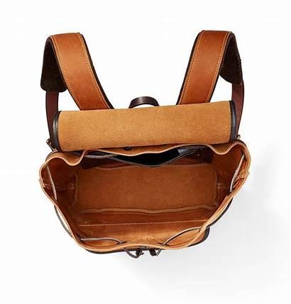Suede Rugged Filson Saddle Backpack