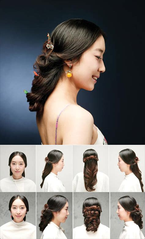 western bun traditional hairstyles korean hairstyles
