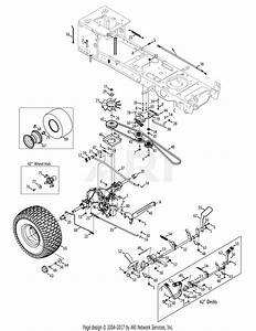Mtd 13at915t004  2012  Parts Diagram For Drive  U0026 Rear Wheels