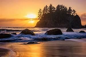 Marine, Layer, Sunset, At