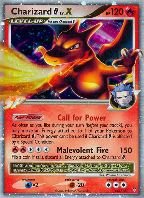 Card of the Day - Charizard G Lv.X (Supreme Victors SV 143 ...