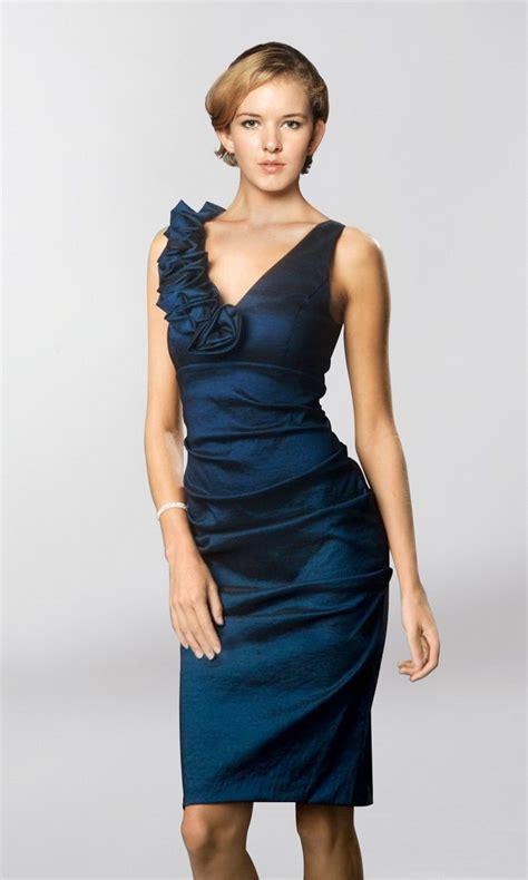 Knee Length Dresses Know How  Navy Blue Dress