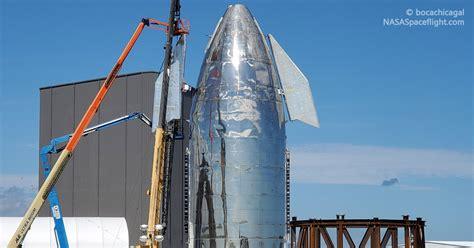 spacex installs  starship mk canard