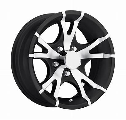 Trailer Lug Aluminum Wheel Viper T07 Wheels