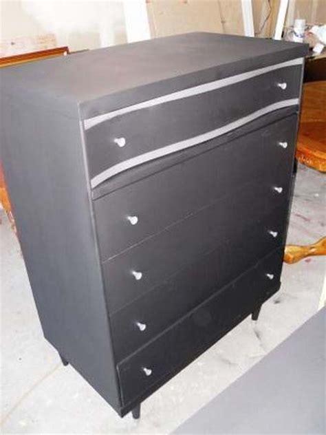 painting black furniture white blackboard paint diy modern furniture decoration in black and white