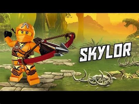 ninjago skylor official video character youtube