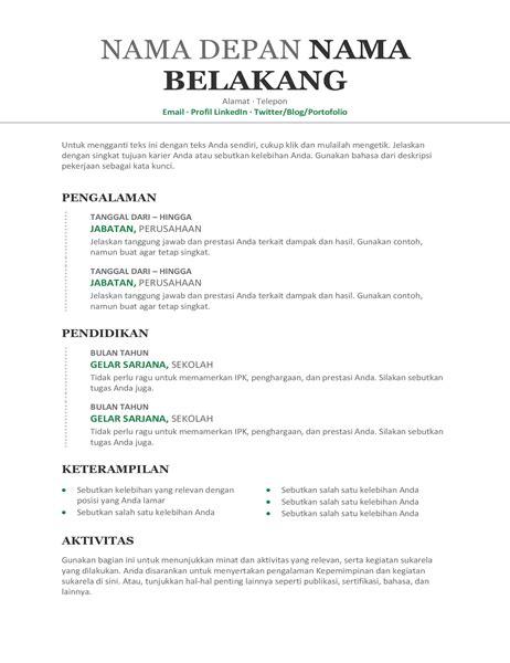 Surat Kronologis by Resume Dan Surat Pengantar Office