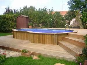 les 25 meilleures idees concernant piscine bois enterree With terrasse en bois pour piscine hors sol 5 piscine 100 bois decouvrez cette nouvelle piscine bois