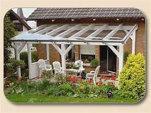 Terrassen berdachung glas holz von holzon kaufen vsg 10mm for Glas terrassenüberdachung