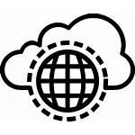 Cloud Icon Internet Data Storage Safe Svg