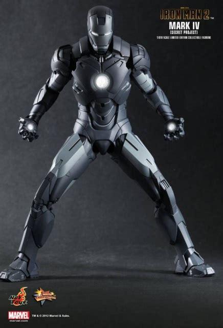 hot toys mms iron man  mark iv  secret project