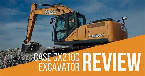 case cxc excavator review full specs iseekplant