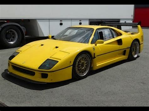 Yellow F40 by F40 Lm Yellow 1 18 Looksmart Models