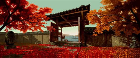 Animated Scenery Wallpapers - anime scenery fall wallpaper anime landscapes