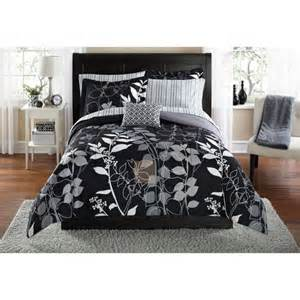 mainstays orkasi bed in a bag coordinated bedding set