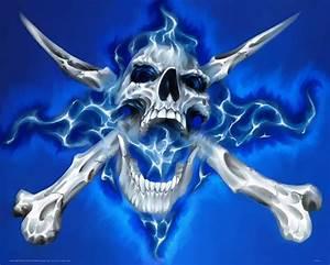 Blue skull Photos | HD Wallpapers Pics