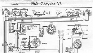 Free Auto Wiring Diagram  1960 Chrysler V8 Imperial Wiring Diagram