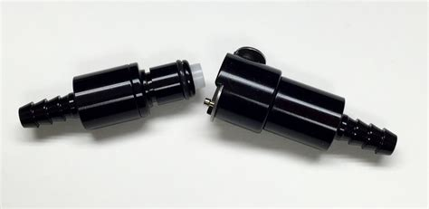 Powercell Quick Release Billet In-line Fuel Connector