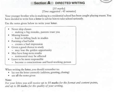 ponponproduction spm directed writing  informal