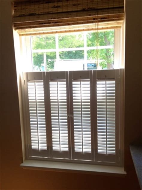 halfway   window  plantation shutters