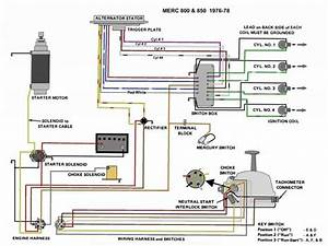 1994 Mercury 40 Wiring Diagram