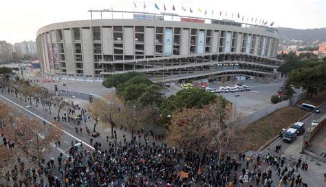 Tsunami Democrático | Barcelona vs Real Madrid: Cientos de ...