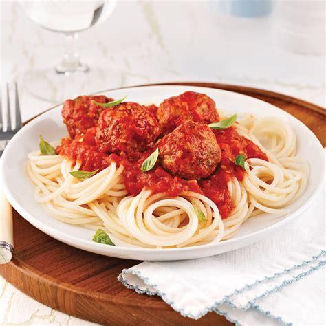 cuisine recettes pratiques spaghettis de quinoa sauce aux boulettes de dindon