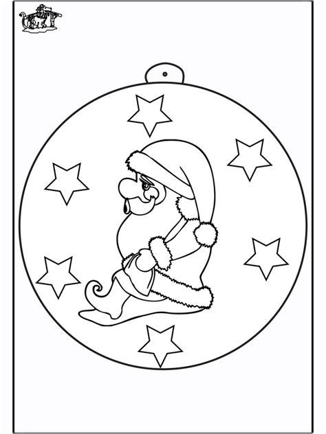christmas ball  santa claus  coloring pages christmas