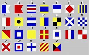 Résultat d'images pour drapeau marin alphabet