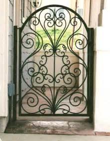 gate designs wrought iron gate designs