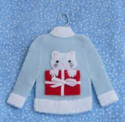 ornaments from sweet gracie co feature tiny sweaters catster