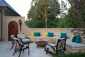 dc metro Seat Pads patio mediterranean with beige outdoor