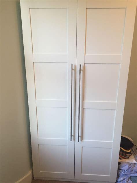 ikea pax doors ikea pax white with smart bergsbo doors