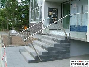 Treppengeländer Außen Holz : treppengel nder au en 02 03 schlosserei metallbau fritz ~ Michelbontemps.com Haus und Dekorationen