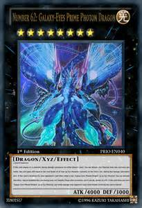 Yu-Gi-Oh! Galaxy-Eyes Prime Photon Dragon