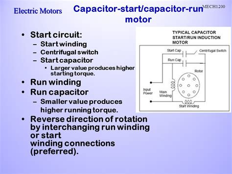 Capacitor Start Run Motor Impremedia