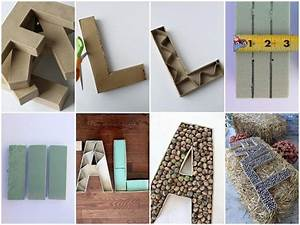 389 best images about craft on pinterest diy cardboard With hollow cardboard letters
