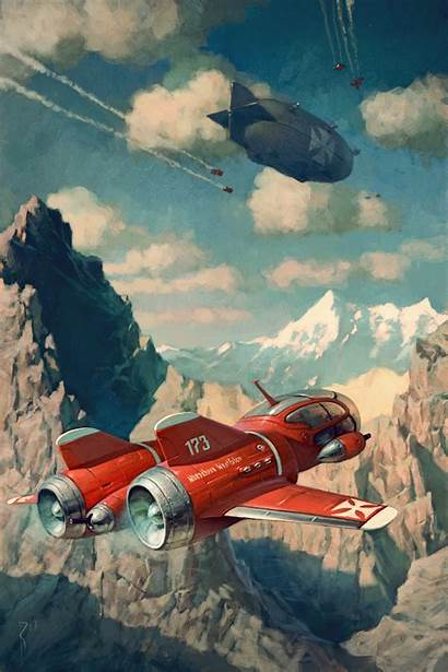 Waldemar Kazak Illustrations Von Kozak Sci Fi
