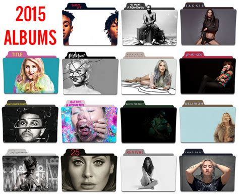 Icon Folder 2015 2015 Albums Folder Icon Pack By Nickohetenbern On Deviantart