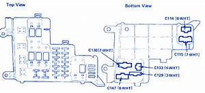 Honda Life 1998 Fuse Box  Block Circuit Breaker Diagram