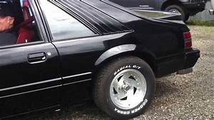 1984 Mustang Fastback With 302 Motor And 700 Hp Cold Start