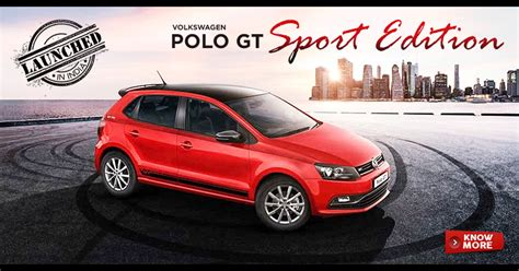 Volkswagen Polo Gt Sport Edition Launched