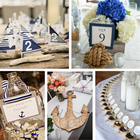 wedding decor l arabesque events great nautical wedding ideas for your Nautical