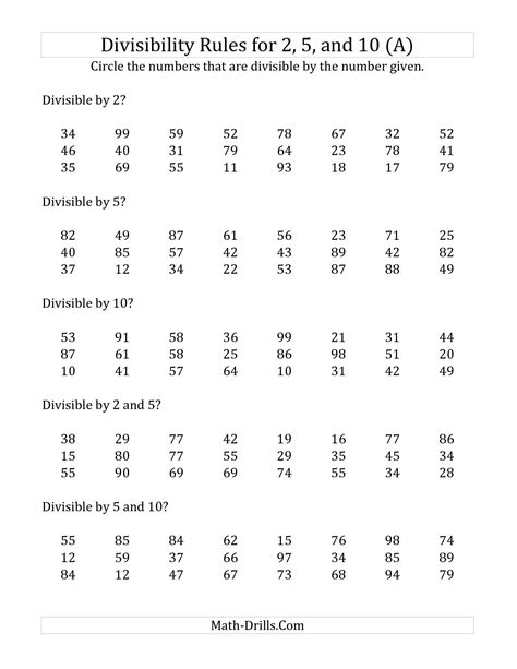 15 Best Images Of Who Rules Worksheet  Divisibility Rules Worksheet, Solubility Rules Worksheet