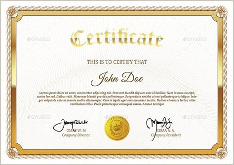 Photoshop Certificate Template by Blank Certificate Background Design Photoshop