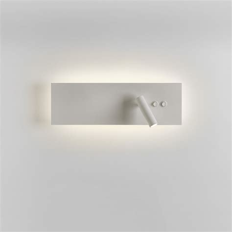 astro 7855 edge reader led wall light in white 11 5w 3w