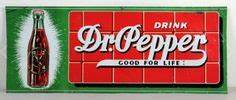 Dr Pepper first introduced the